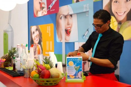 mobile smoothiebar messe