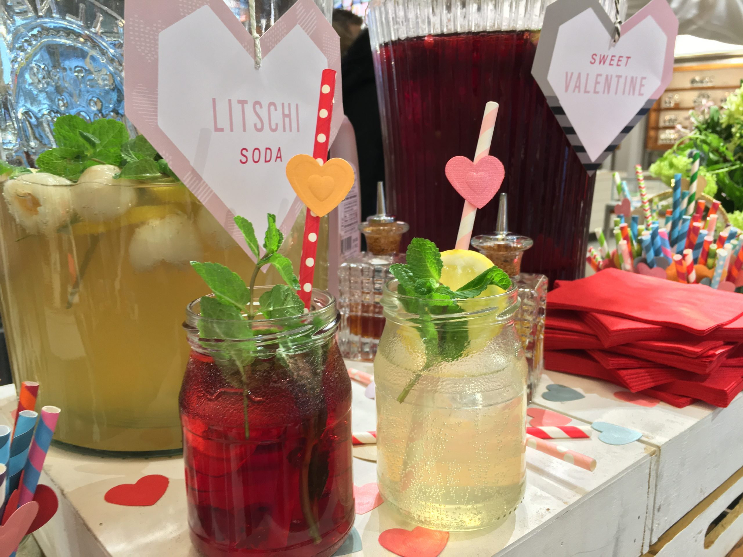 messe catering limonade shopevent