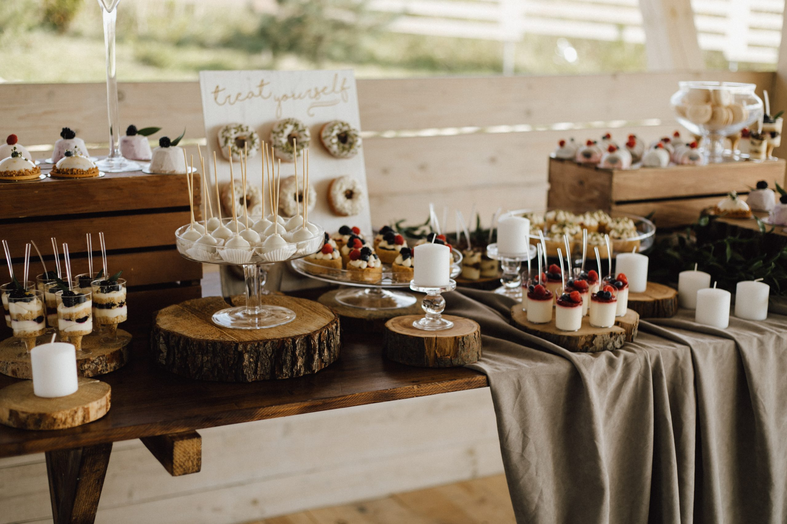 sweet table event